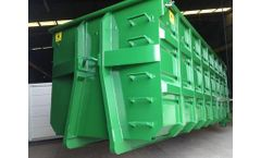 Volga - Special Scrape Metal Hooklift Containers
