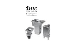 IMC - Food Waste Disposers Brochure
