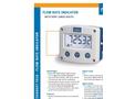 Fluidwell - Model F010 - Field Mount - Flow Rate Indicator - Brochure