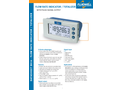 Fluidwell - Model D014 - Flow Rate Indicator / Totalizer with Pulse Signal Output - Brochure