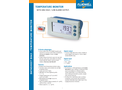 Fluidwell - Model D043 - Temperature Monitor with One High / Low Alarm Output - Brochure