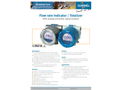 Fluidwell - Model E110 - Flow Rate Indicator / Totalizer - Brochure