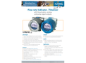 Fluidwell - Model E112 - Flow Rate Indicator / Totalizer - Brochure