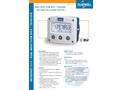 Fluidwell - Model F111 - Field Mount - Dual Input Flow Rate Indicator/Totalizer - Datasheet