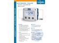 Fluidwell - Model F114 - Field Mount - Ratio monitor / Totalizer - Datasheet