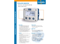 Fluidwell - Model F117 - Field Mount - Totalizer Monitor with High / Low Totalizer Alarms and Analog Output - Datasheet