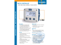 Fluidwell - Model F130 - Field Mount - Batch Controller with Two-stage Control and Pulse Output - Datasheet