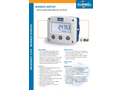 Fluidwell - Model F193 - Field Mount - Modbus Display with Alarms, Control and Analog Outputs - Datasheet