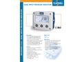 Fluidwell - Model F151 - Dual Input Pressure Indicator - Datasheet