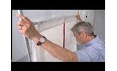 ZipWall Magnetic Door Installation How-to Guide - Video