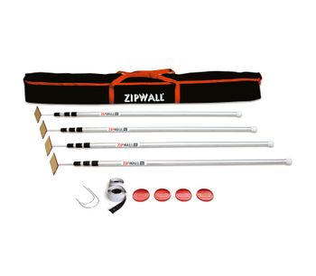 Zipwall - Model SLP4 - Four Spring-loaded Poles - 12` 4-Pack