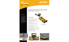 Tramex - Model DSAL - DEC - Mobile Non-Destructive Impedance Scanner - Datasheet