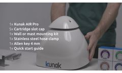 Kunak AIR Pro - checking before deployment