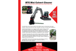 BTE - Model 325 - Railroad Modified Hi-Rail Excavator Brochure