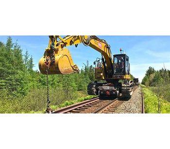 BTE - Model 325 - Railroad Modified Hi-Rail Excavator