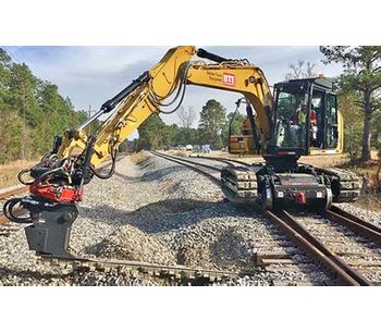 BTE - Model 313 - Railroad Modified Hi-Rail Excavator