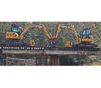 BTE - Model 308 - Railroad Modified Hi-Rail Mini Excavator