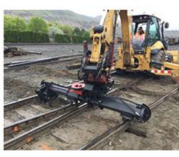 BTE - Model 450 - Railroad Modified Hi-Rail Backhoe