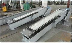 Model HF - Rotary Mechanical Bar Screen for Wastewater Treatment