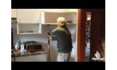 3rd Hand Installing Cabinet - Video