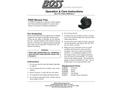 BOSS - Model F600 - 3-Speed Blower Fan, 120V - Manual
