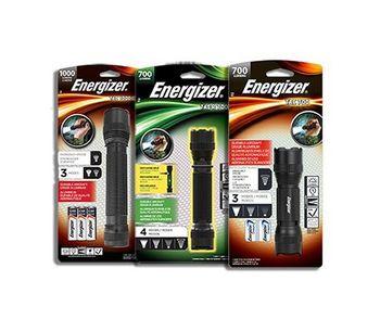 Energizer - Tactical Metal Flashlights