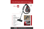 Revo Red - Model AHC-RR - Bagless HEPA Canister Vacuum Blowers Brochure