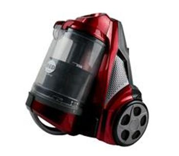 Revo Red - Model AHC-RR - Bagless HEPA Canister Vacuum Blowers