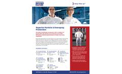 Enviroguar - Model 4017 - Elastic Wrist & Ankle Brochure