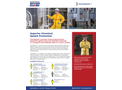ChemSplash - Model 1- 7012YS - Elastic Wrist Open Ankle Serged Seams Coverall Brochure
