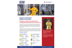 ChemSplash - Model 1- 7012YS - Elastic Wrist Open Ankle Serged Seams Coverall Brochure
