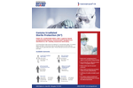 GammaGuard CE - Model CE11026CIS - Tunnelized Elastic Wrist Bound Seam Clean Processed Sterile Frock Coverall Brochure