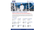 MicroGuard - Model MP - 8012 - Open Ankle Elastic Wrist, Elastic Back Microporous Coverall Brochure