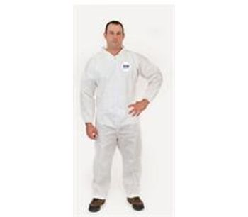 Enviroguar - Model 4012 - Open Ankle Elastic Wrist Coverall