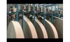 Paper Core Making Machine Video