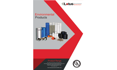 Environmental Products - Technical Data Sheet