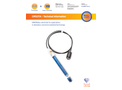 ORSOTA – ORP/Redox Electrode for Applications in Laboratory and Environmental Technology - Technical Data Sheet