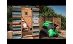 HomeBiogas Bio Toilet Video