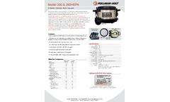 Ermator - Model 390 & 390HEPA - 4 Gallon Canister Style Vacuum