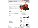 Ermator - Model S25 - Wet/Dry HEPA Vacuum with Power Tool Outlet - Brochure
