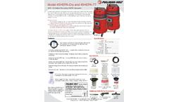 Ermator - Model 45 - HEPA-Dry HEPA Vacuum - Brochure
