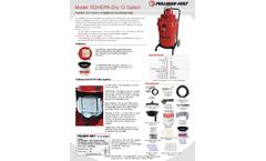 Ermator - Model 102 - HEPA-Dry HEPA Vacuum - Brochure