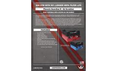 Phoenix GuardianR - Model Pro - Hepa Air Scrubbers - Spec Sheet