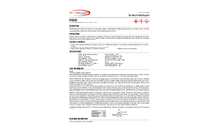 PEAR - Model 3830 - Solvent-Based Total Release Odor Control - Datasheet
