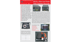 Geobit - Model SRi32L and SRi32D - 32 Bit Seismic Digitizer/Recorder with SeedLink Server Brochure