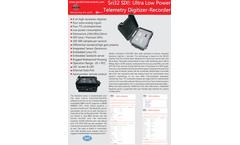 Geobit - Model SRi32-SIX - 6 channels Seismic Digitizer/Recorder Brochure