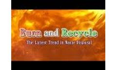 PLANTEC Inc. Burn and Recycle - The Latest Trend in Waste Disposal Video