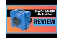 Industrial Commercial HEPA Air Purifier Review Video