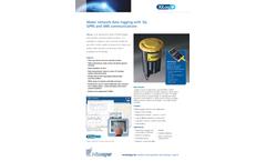 Xilog+ - Water Network Data Loggers  Brochure