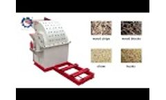 2019: Wood Crusher with Good Efficiency Video